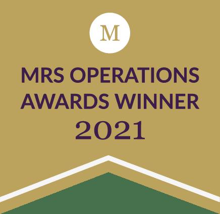 MRS Operations Awards Winner 2021
